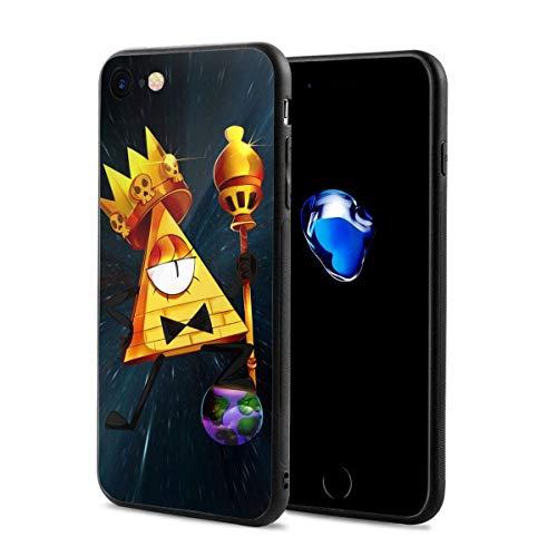 Bill Cipher Gravity Falls Anti-Graffio Protective Custodie per Telefoni iPhone 12/11 Pro Max 12 mini SE X/XS Max XR 8 7 6 6s Plus Custodie