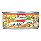 HORMEL White & Dark Chunk Turkey, 5 Ounce Can (Pack of 12)