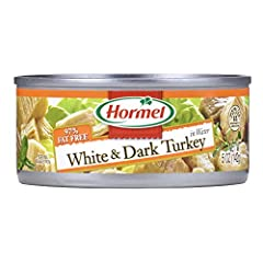 White & Dark Chunk Turkey Perfect for a quick tasty meal 5 ounce units