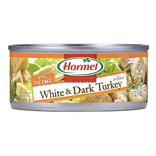 Hormel White & Dark Chunk Turkey, 60 Ounce (Pack of 12)
