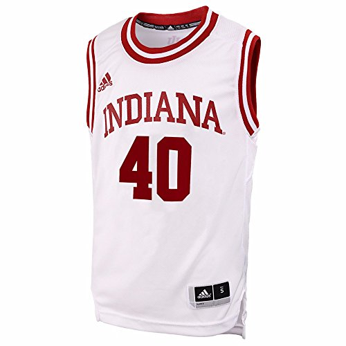 adidas Cody Zeller #40 Indiana Hoosiers White Away Replica Youth Jersey
