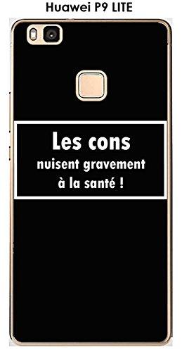 Onozo Carcasa Huawei P9Lite Design Message los Cons, Texto Blanco