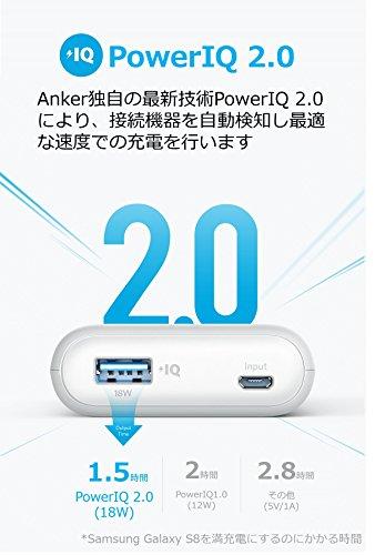 41xiNalaWQL - 『Anker PowerCore II 10000 PowerIQ 2.0搭載』このモバイルバッテリーはコスパ最高ですね