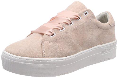 s.Oliver Damen 23632 Sneaker, pink (rose), 41 EU