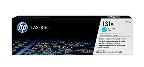 HP 131A (CF211A) Blau Original Toner für HP LaserJet Pro 200 Color M251n, MFP M276