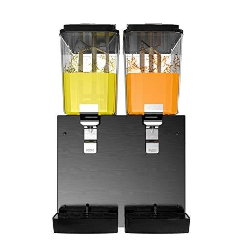 Dispensador de bebidas Máquina de bebidas de gran capacidad Máquina de jugo de doble cilindro y frío de doble cilindro automático Máquina de bebidas de tipo pulverización automática Torre de bebida
