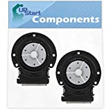 2-Pack 4681EA2001T Washer Drain Pump Motor Replacement for LG WM2233HS (ATTEEUS) Washing Machine - Compatible with 4681EA2001T Water Pump - UpStart Components Brand
