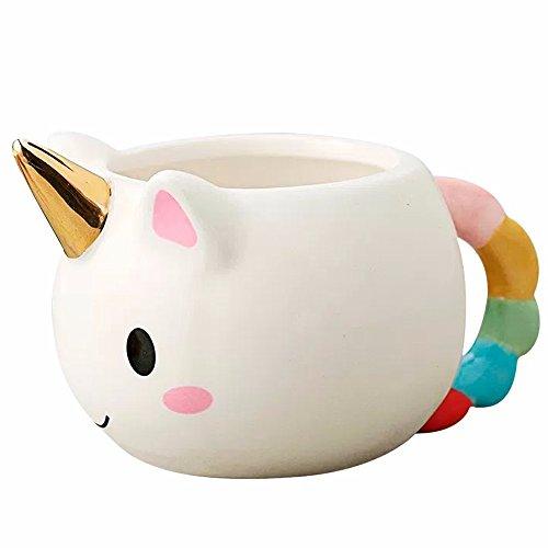 Taza Ceramica En Forma De Unicornio 3d