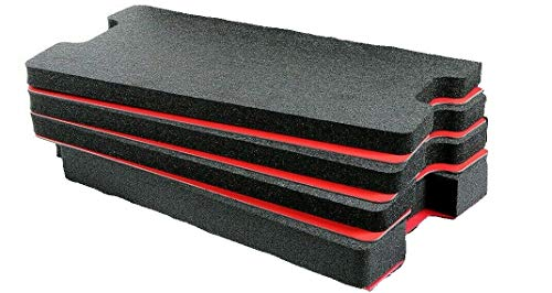 Custom Tool Control Foam Inserts & ABS Plastic for Pelican 1535. Turn Your 1535 into a Custom Tool case.