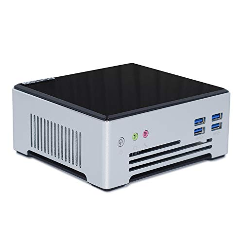 HISTTON Intel NUC Gaming Mini PC Desktop PC DDR4 Quad Core i7-7820HQ, 32GB RAM 1TB SSD, 2LAN, HDMI, DP, M.2 WiFi, BT4.2, Windows 10 Pro Mini PC