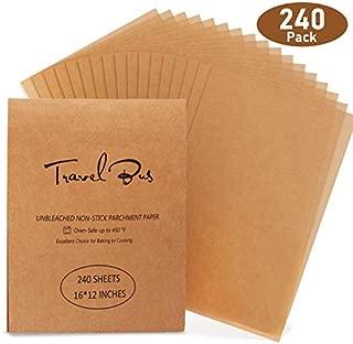 Best unwaxed parchment paper Reviews