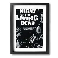 絵画 油絵 30 * 40 Cm Night Of The Living Dead ポスター おしゃれ インテリア 壁アート フォトフレーム おしゃれ お風呂の装飾 キャンバスアート アート油画 パネル ャンバス