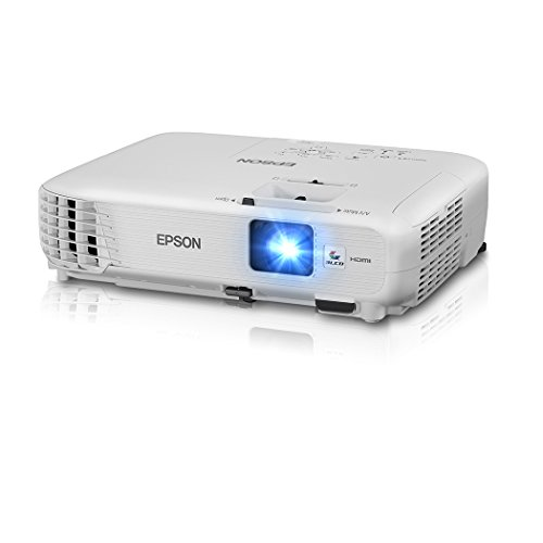 Epson Home Cinema 740HD 720p, HDMI, 3LCD, 3000 Lumens Color and White Brightness Home Theater Projector (Renewed)