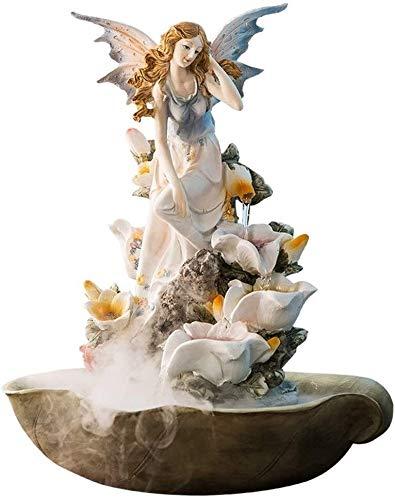Zimmerbrunnen Engel Lily 4 Etage Wasserfall Wohnzimmer Home Decoration Dekoration Hochzeit Warming Geschenk Innenministerium Dekoration