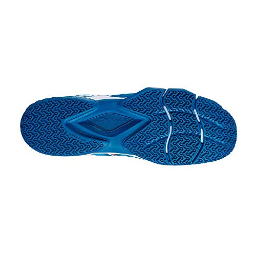 BABOLAT MOVEA Men, Zapatillas de Tenis Hombre, Methyl Blue/Flame, 42.5 EU
