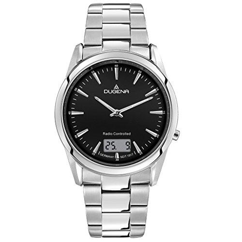 Dugena Herren Digital Uhr mit Edelstahl Armband 4460674.0