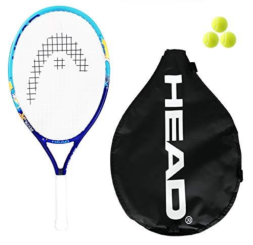 Head Instinct - Raqueta de tenis (58,4 cm, incluye 3 pelotas...