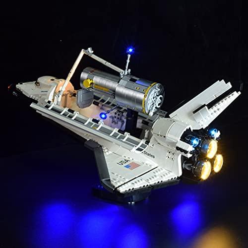 SEREIN Kit de iluminación LED para Lego NASA Space Shuttle Discovery, Juego de luces compatible con Lego 10283 Bloques de Construcción- (Solo luz LED)