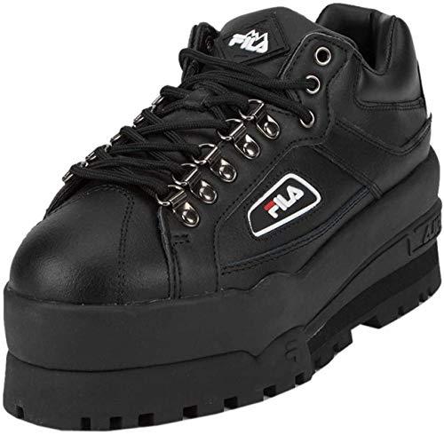 FILA Trailblazer Wedge Platform Sneaker In Black