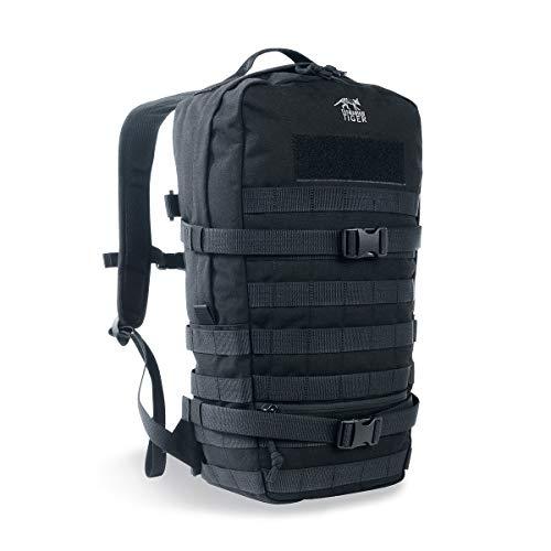 Tasmanian Tiger TT Essential Pack L MKII Molle Kompatibler 15L Daypack Outdoor Rucksack (Schwarz)