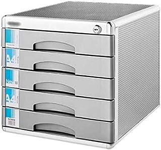 Classeur avec tiroir Classeur Bureau verrouillables Armoire Tiroir Bureau Table Gros volumes de données Supports à journau...