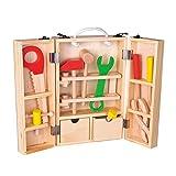 Juego de simulación de los niños de la casa del Juego de Herramientas de Juguete Puzzle Boy desmontaje y Montaje Caja de Herramientas de Juguete de Madera PX
