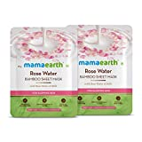 Best Rose Waters - Mamaearth Rose Water Bamboo Sheet Mask - Pack Review