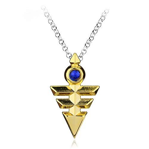 Anime Yu-Gi-Oh Halskette Millenium Puzzle Yugioh Yugi Ägypten Auge Des Horus Anhänger Halsketten Für Frauen Männer Mode Geschenke Kragen