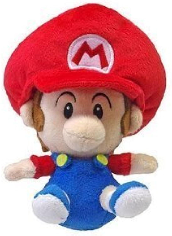 5 Official Sanei Baby Mario Soft Stuffed Plush Super Mario Plush Series Plush Doll Japanese Import by Sanei