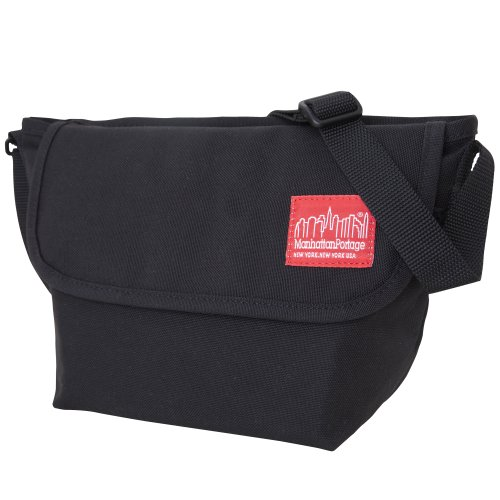 [[マンハッタンポーテージ] Manhattan Portage] 正規品【公式】 Casual Messenger Bag(US XXS 日本XS) メッセンジャーバッグ MP1603 ブラック