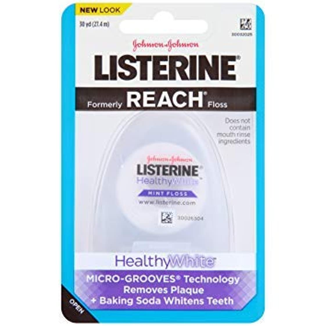 チャーム証明書菊JOHNSON&JOHNSON LISTERINE REACH (healthywhite)