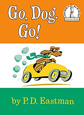Classic beginning reader Go Dog Go is great for 4 year olds.