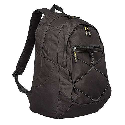 MIG - Mud Ice Gravel Mens & Boys Medium Backpack Hiking Rucksack Bag SPORTS TRAVEL SCHOOL (Black)
