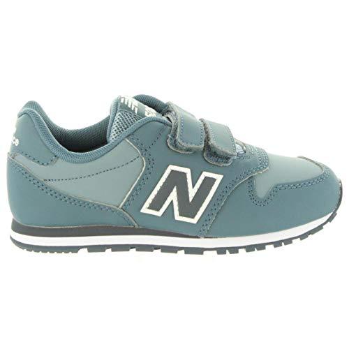 New Balance Unisex-Kinder Zapatillas Fitnessschuhe, Mehrfarbig (Kv500guy Azul), 32 EU