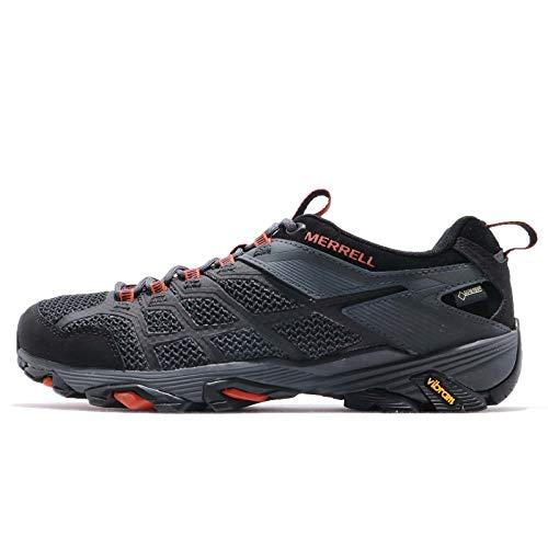 MERRELL MOAB FST 2 GTX, Zapatillas Tiempo Libre y Senderismo Hombre, Black/Granite (Multicolor), 42 EU