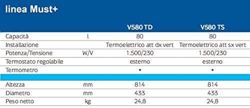 Baxi Must+ V580 TD