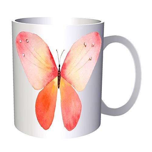Pink Butterfly Aquacolors 330 ml taza ee728