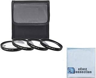58mm PROシリーズ4pc HDマクロClose Upフィルタセット+ 1+ 2+ 4+ 10for Pentax smcp-da 55–300mm f / 4–5.8Ed Autofocus Lens