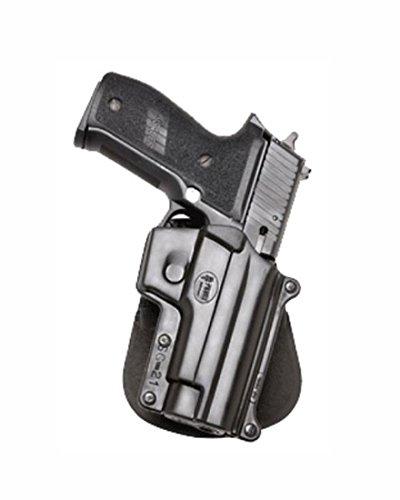 Fobus Concealed Carry Thumb Break Paddle Holster giratoria para Sig Sauer 226& 228con rieles, 245, 225/Norinco NC226/Smith & Wesson 3913, 4013, 5904, 6906, 5946, 3919, CS9. No para T/S & W 6906, 4566, 4003/SAR brazos B6/Tristar