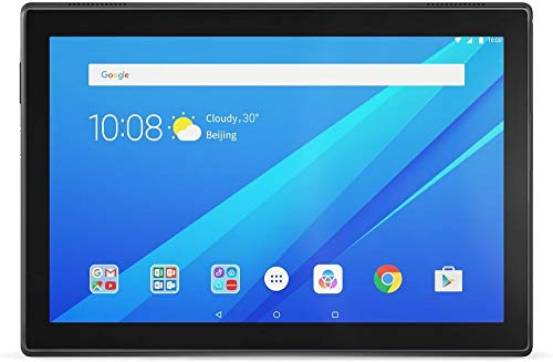Lenovo Tab4 10 25,5 cm (10,1 Zoll, 1280x800, HD, WideView, Touch) Tablet-PC (Qualcomm Snapdragon APQ8017, 2GB RAM, 16GB eMCP, Wi-Fi, Android 7.1.1) weiß