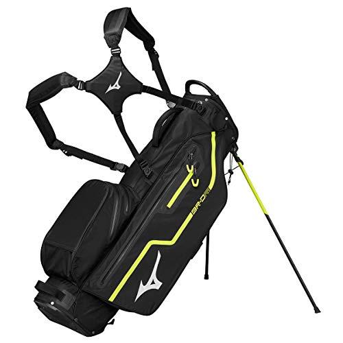 Mizuno Waterproof BRDRI Stand 2019 Sac de Golf Mixte Adulte, Black, FR Fabricant : Taille Unique