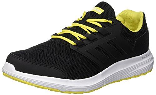Adidas Galaxy 4 M, Zapatillas de Entrenamiento Hombre, Negro (Core Black/Core Black/Footwear White 0), 40 2/3 EU