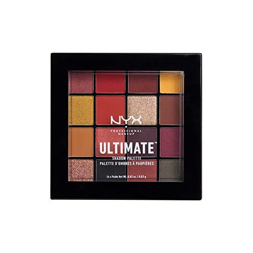 NYX Professional Makeup Paleta de sombra de ojos Ultimate Shadow Palette, Pigmentos...