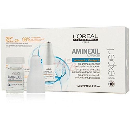Ampollas Anticaída Aminexil Advanced 10 x 6 ml – Oferta de 6 unidad
