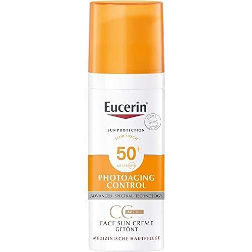 Eucerin Sun CC Creme Get�nt Hell LSF 50+, 50 ml