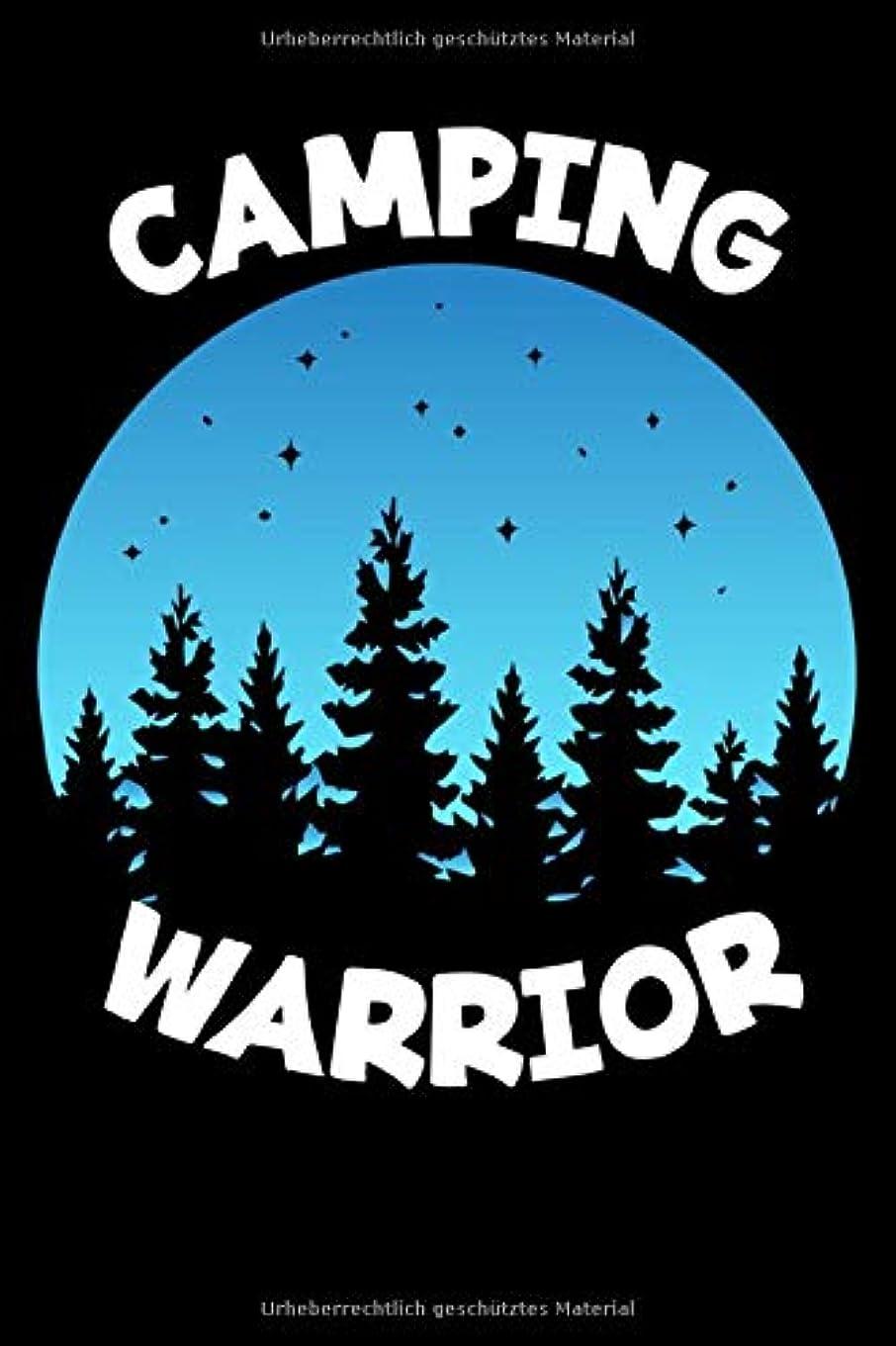 トランペット生態学冷蔵するMein Wohnmobil Reisetagebuch: Dein persoenliches Tourenbuch fuer Wohnmobil und Campingreisen im handlichen 6x9 Format I Motiv: Camping Warrior Baeume