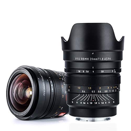 VILTROX FE 20mm f1.8フルサイズ 広角 単焦点レンズ SONY ソニー Eマウント用 マニュアルフォーカス A7 A7III A7RIII A7RII A7II A9 A6500 A6300 A6000