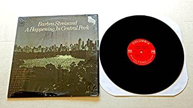 Barbra Streisand A HAPPENING IN CENTRAL PARK (HCPTWO2) - Columbia Records 1968 - USED Vinyl Record Album - 1968 Pressing IN SHRINK WRAP - 360 Sound Labels -Cry Me A River People I Can See It