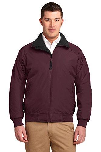 Port Authority® Challenger™ Jacket. J754 Maroon/True Black XS