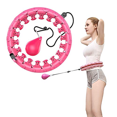Read About MGMDIAN Lazy Man Hula Hoop That Won't Fall/Fitness tire Massage Hula Hoop/Slimming Thin W...